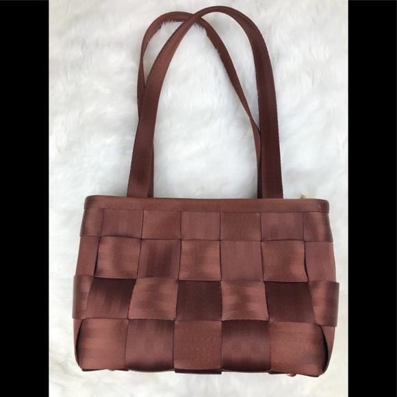 Harveys Handbags - Harveys Brown Medium Seatbelt Handbag